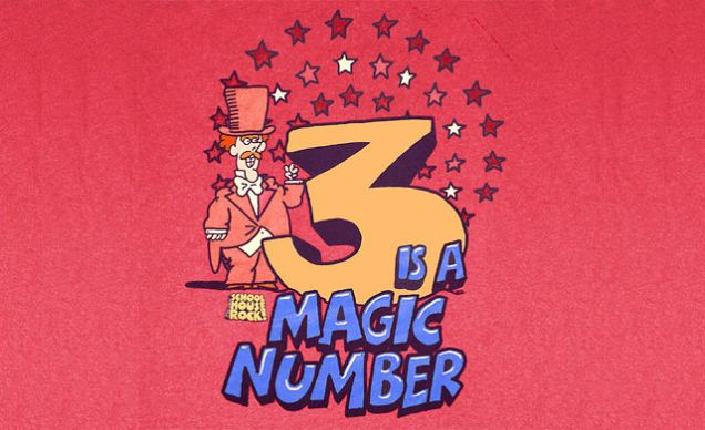 three-is-the-magic-number